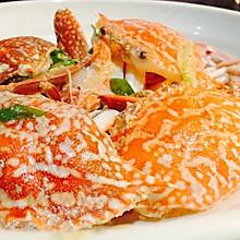 妈妈的姜葱炒蟹