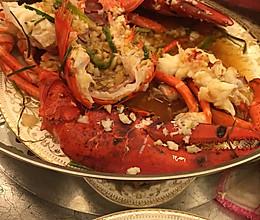 蒜蓉大龙虾的做法