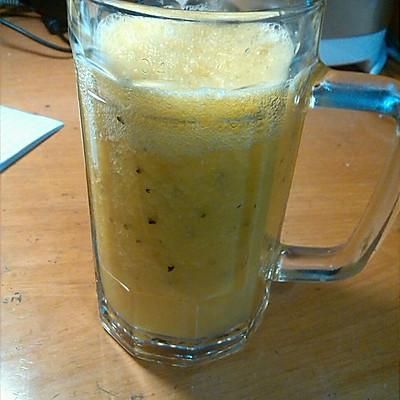 百香果橙汁饮