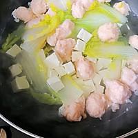 虾滑豆腐白菜汤#做道好菜,自我宠爱!#的做法图解14