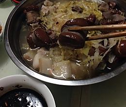 东北酸菜血肠的做法