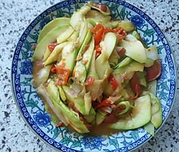 素炒菜瓜的做法