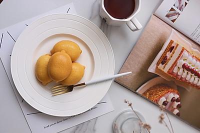 柠檬海绵小蛋糕
