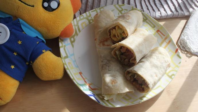 鸡肉卷(附墨西哥饼的做法)