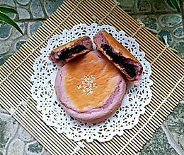 紫薯紫糯米面包的做法
