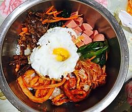 没有韩式拌饭酱的拌饭的做法