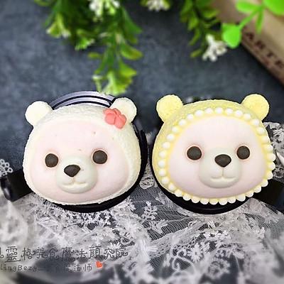 【美食魔法】超级美味的萌熊3D立体慕斯