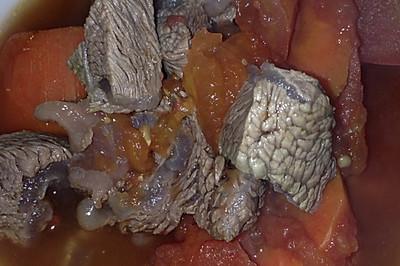大喜大牛肉粉试用之番茄牛肉汤