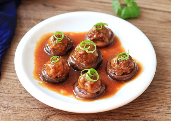 香菇酿肉丸的做法
