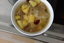银耳苹果红枣汤的做法
