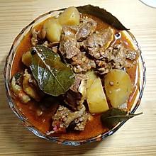 电饭煲川式红烧牛肉炖土豆(单身宿舍美食)