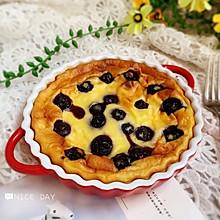 #肉食者联盟#蓝莓爆浆酸奶蛋糕