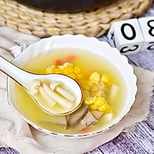 #秋天怎么吃#猪肝玉米菌菇汤