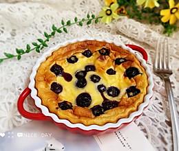 #肉食者联盟#蓝莓爆浆酸奶蛋糕的做法