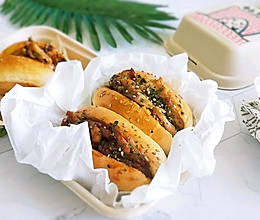 #橄榄中国味 感恩添美味#照烧鸡腿双味热狗的做法