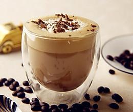 热摩卡咖啡的做法