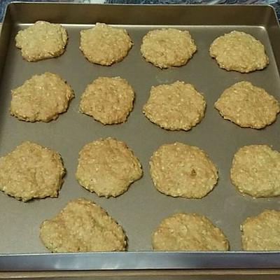 豆渣燕麦小饼