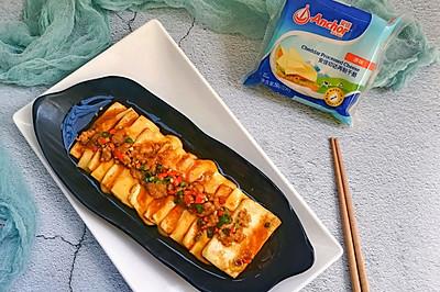 快手創意營養脆嫩芝士豆腐