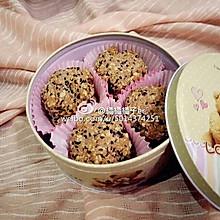 黑芝麻紫薯燕麦饼干