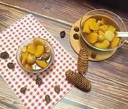 简单快手  驱寒养生——红糖姜汁板栗红薯甜汤的做法