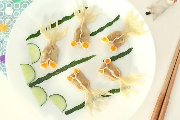 三鲜金鱼蒸饺 宝宝辅食微课堂的做法