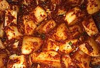 脆脆开胃韩国泡菜(白萝卜)的做法