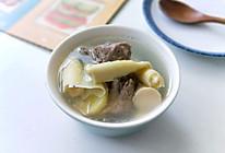 鲜笋排骨汤的做法