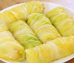 迷迭香:白菜豆腐卷的做法