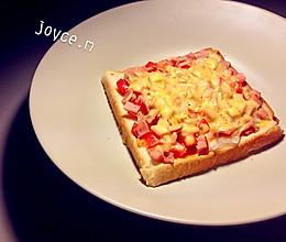 微波炉吐司披萨的做法