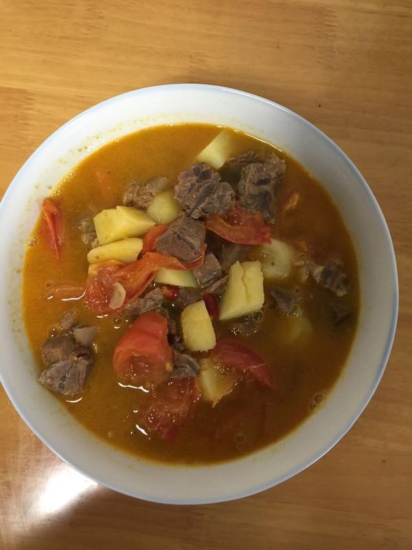 土豆西红柿牛肉的做法