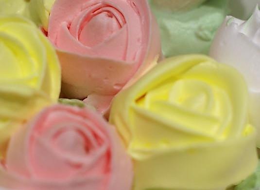 奶油玫瑰花