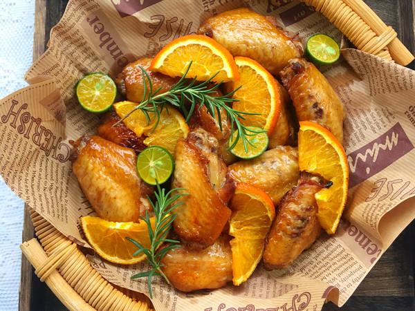 【香橙烤翅】