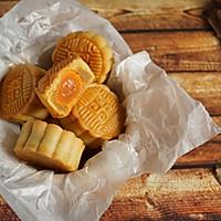 无糖蛋黄月饼#金龙鱼外婆乡小菜籽油 外婆的时光机#的做法图解18