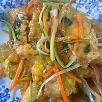 东北锅包肉的做法图解4