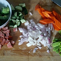 减肥什锦蔬菜意面的做法图解1