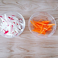 开胃解腻的萝卜小肉饼 宝宝辅食食谱的做法图解4