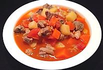 番茄土豆胡萝卜炖牛腩的做法