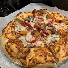 """安佳爆浆培根披萨#2021趣味披萨组——芝香""""食""""趣#"""