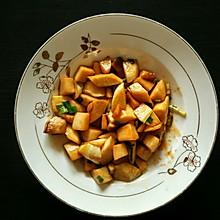 蚝油茭白炒杏鲍菇
