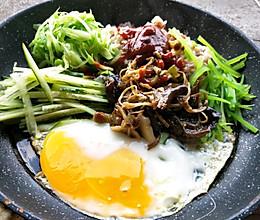 平底锅拌饭(一人食)的做法