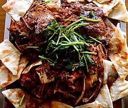 私房秘制鱼头泡饼+#宴客拿手菜#的做法