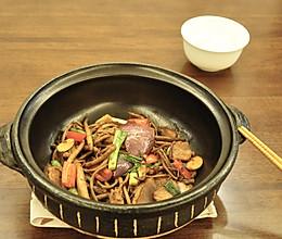 干锅茶树菇-米饭杀手的做法