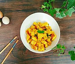 孜然炒馒头丁#花10分钟,做一道菜!#的做法