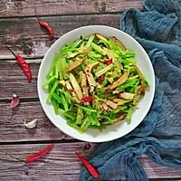 香芹炒豆干#花10分钟,做一道菜!#的做法图解10