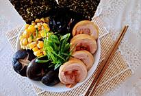 #美食视频挑战赛# 一碗低卡的日式拉面的做法