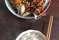 双色剁椒鱼头的做法