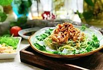 #春天肉菜这样吃#凉拌鸡丝黄瓜粉皮的做法