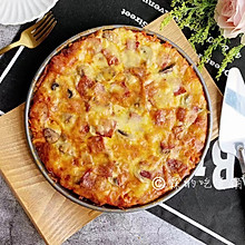 蘑菇培根披萨