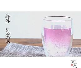 渐变色悬浮饮料(用把勺子就搞定,冷藏更梦幻,聚会装下逼)的做法