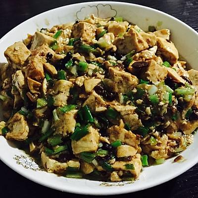 香葱麻豆腐